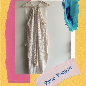 FREE PEOPLE lace midi dress size S